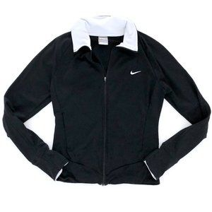 NIKE Women's Black Zip Up Lightweight Jacket S